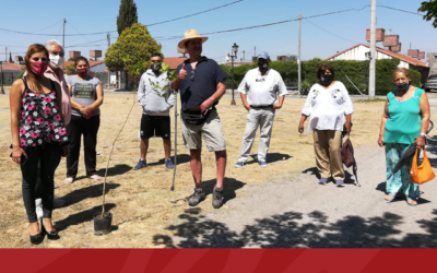 Donación de Árboles para Barrio Pinares