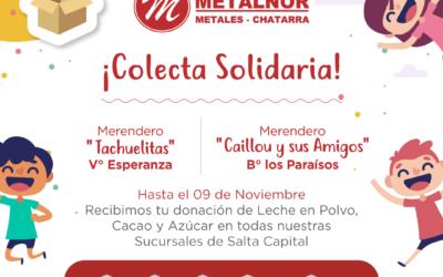 Campaña con la donación de Leche en Polvo, Cacao y Azúcar